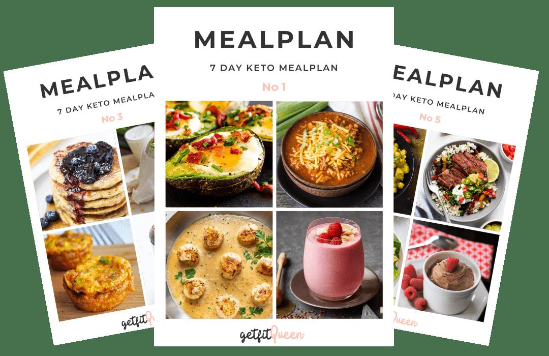 Keto Mealplans Getfitqueen.com